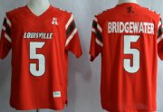 Wholesale Cheap Louisville Cardinals #5 Teddy Bridgewater Red Jersey