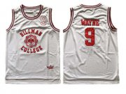 Wholesale Cheap Hillman College Theater Dwayne Wayne White Stitched Movie Jersey