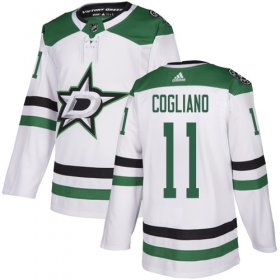 Cheap Adidas Stars #11 Andrew Cogliano White Road Authentic Youth Stitched NHL Jersey
