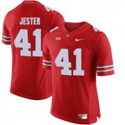 Wholesale Cheap Ohio State Buckeyes 41 Hayden Jester Red College Football Jersey