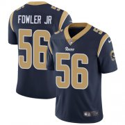 Wholesale Cheap Nike Rams #56 Dante Fowler Jr Navy Blue Team Color Men's Stitched NFL Vapor Untouchable Limited Jersey