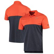 Wholesale Cheap Chicago Bears Nike Sideline Early Season Performance Polo Orange Navy