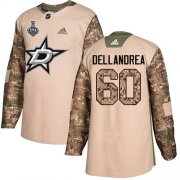 Wholesale Cheap Adidas Stars #60 Ty Dellandrea Camo Authentic 2017 Veterans Day 2020 Stanley Cup Final Stitched NHL Jersey