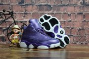 Wholesale Cheap Kids Air Jordan 13 Retro Shoes Blue/Bright concord-White