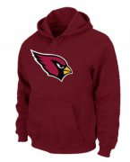 Wholesale Cheap Arizona Cardinals Logo Pullover Hoodie Red