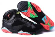 Wholesale Cheap Air Jordan 7 Marvin the Martian Size 14 15 16 Black/Infrared 23-Blue Graphite-Retro Noir