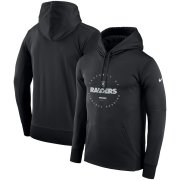 Wholesale Cheap Las Vegas Raiders Nike Sideline Property of Performance Pullover Hoodie Black
