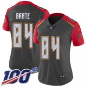 Wholesale Cheap Nike Buccaneers #84 Cameron Brate Gray Women's Stitched NFL Limited Inverted Legend 100th Season Jersey