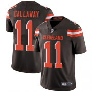 Wholesale Cheap Nike Browns #11 Antonio Callaway Brown Team Color Men's Stitched NFL Vapor Untouchable Limited Jersey