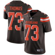 Wholesale Cheap Nike Browns #73 Joe Thomas Brown Team Color Men's Stitched NFL Vapor Untouchable Limited Jersey
