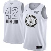 Wholesale Cheap Nike Celtics #42 Al Horford White NBA Jordan Swingman 2018 All-Star Game Jersey