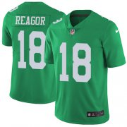 Wholesale Cheap Nike Eagles #18 Jalen Reagor Green Youth Stitched NFL Limited Rush Jersey