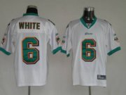 Wholesale Cheap Dolphins Pat White #6 White Stitched NFL Jersey