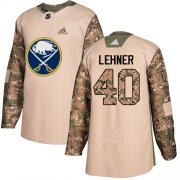 Wholesale Cheap Adidas Sabres #40 Robin Lehner Camo Authentic 2017 Veterans Day Youth Stitched NHL Jersey