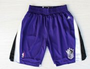 Wholesale Cheap Sacramento Kings Purple Short
