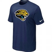 Wholesale Cheap Nike Jacksonville Jaguars Sideline Legend Authentic Logo Dri-FIT NFL T-Shirt Midnight Blue