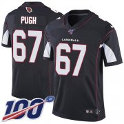 Wholesale Cheap Nike Cardinals #67 Justin Pugh Black Alternate Men's Stitched NFL 100th Season Vapor Limited Jersey
