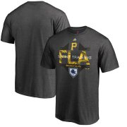Wholesale Cheap Pittsburgh Pirates Majestic 2019 Spring Training Grapefruit League Winner T-Shirt Gray