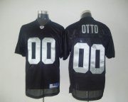 Wholesale Cheap Raiders #0 Jim Otto Black Stitched NFL Jersey
