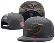 Wholesale Cheap NFL Miami Dolphins Stitched Snapback Hats 069