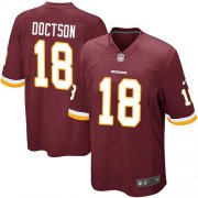 Wholesale Cheap Nike Redskins #18 Josh Doctson Burgundy Red Team Color Youth Stitched NFL Elite Jersey