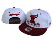 Wholesale Cheap NBA Chicago Bulls Snapback Ajustable Cap Hat DF 03-13_73