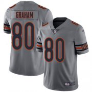 Wholesale Cheap Nike Bears #80 Jimmy Graham Silver Youth Stitched NFL Limited Inverted Legend Jersey