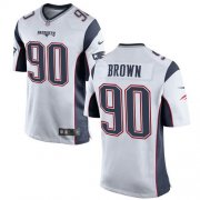 Wholesale Cheap Nike Patriots #90 Malcom Brown White Youth Stitched NFL New Elite Jersey