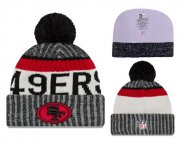 Wholesale Cheap NFL San Francisco 49ers Logo Stitched Knit Beanies 013