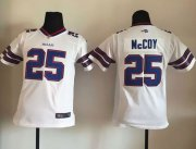 Wholesale Cheap Nike Bills #25 LeSean McCoy White Youth Stitched NFL New Elite Jersey