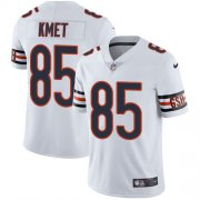 Wholesale Cheap Nike Bears #85 Cole Kmet White Men's Stitched NFL Vapor Untouchable Limited Jersey