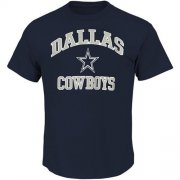 Wholesale Cheap Dallas Cowboys Big & Tall Heart & Soul III T-Shirt Navy