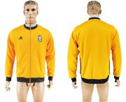 Wholesale Cheap Juventus Soccer Jackets Yellow