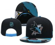 Wholesale Cheap San Jose Sharks Snapback Ajustable Cap Hat YD