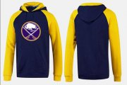 Wholesale Cheap Buffalo Sabres Pullover Hoodie Blue & Yellow