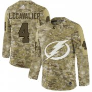 Wholesale Cheap Adidas Lightning #4 Vincent Lecavalier Camo Authentic Stitched NHL Jersey