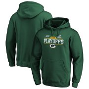 Wholesale Cheap Green Bay Packers NFL 2019 NFL Playoffs Bound Chip Shot Pullover Hoodie Green