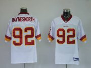 Wholesale Cheap Redskins #92 Albert Haynesworth Stitched White NFL Jersey