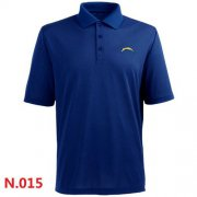 Wholesale Cheap Nike Los Angeles Chargers 2014 Players Performance Polo Blue