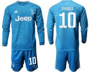 Wholesale Cheap Juventus #10 Dybala Third Long Sleeves Soccer Club Jersey