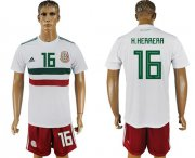 Wholesale Cheap Mexico #16 H.Herrera Away Soccer Country Jersey