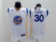 Cheap Golden State Warriors #30 Stephen Curry White Kids Jersey