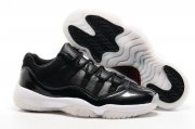 Wholesale Cheap Air Jordan 11 72 10 Low Black/white-red