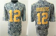 Wholesale Cheap Nike Packers #12 Aaron Rodgers Dollar Fashion Men's Stitched NFL Elite Jersey