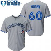 Wholesale Cheap Blue Jays #60 Tanner Roark Grey New Cool Base Stitched Youth MLB Jersey