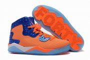 Wholesale Cheap Jordan Spike 40 Shoes Orange/blue-white