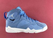Wholesale Cheap Womens Air Jordan 7 Pantone North Carolina Blue/White