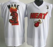 Wholesale Cheap Miami Heat #3 Dwyane Wade 2012 NBA Champions White Jersey