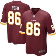 Wholesale Cheap Nike Redskins #86 Jordan Reed Burgundy Red Team Color Youth Stitched NFL Elite Jersey