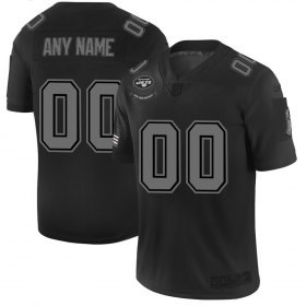 Wholesale Cheap New York Jets Custom Men\'s Nike Black 2019 Salute to Service Limited Stitched NFL Jersey